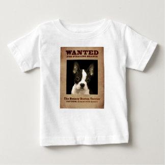 T-shirt Pour Bébé Boston plein d'entrain Terrier