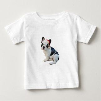 T-shirt Pour Bébé Boston Terrier Père Noël