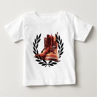 T-shirt Pour Bébé bottes de peaux