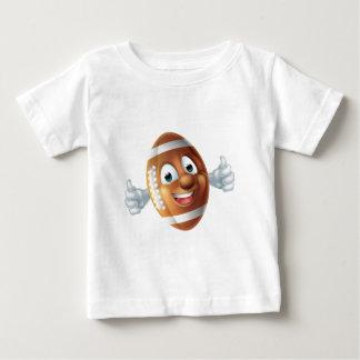 T-shirt Pour Bébé Boule de personnage de dessin animé du football