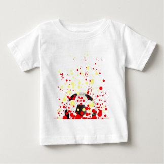 T-shirt Pour Bébé Boule d'éclaboussure du football
