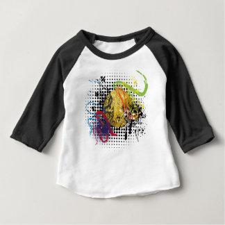 T-shirt Pour Bébé Boule grunge de disco d'or