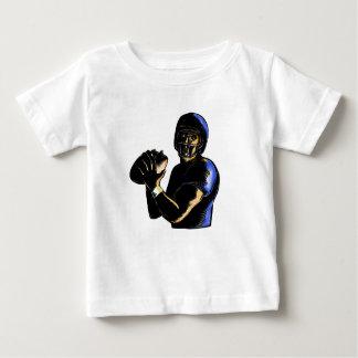 T-shirt Pour Bébé Boule Scratchboard de jet de stratège