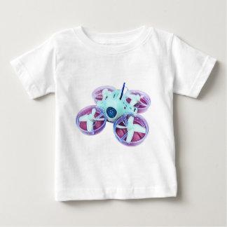 T-shirt Pour Bébé Bourdon minuscule bleu étoilé de huée d'Inductrix