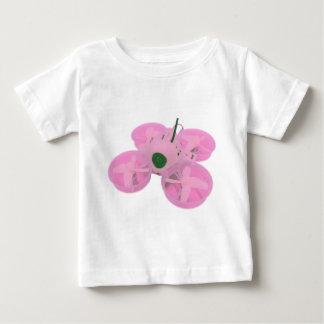 T-shirt Pour Bébé Bourdon minuscule de huée d'Inductrix de rose de