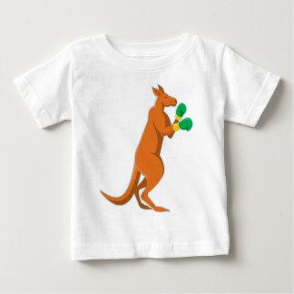T-shirt Pour Bébé boxe de boxeur de kangourou rétro