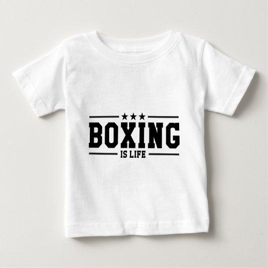 T-shirt Pour Bébé Boxing Boxer Boxen Boxe Fight Figher