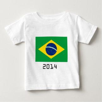 T-shirt Pour Bébé brazil 2014