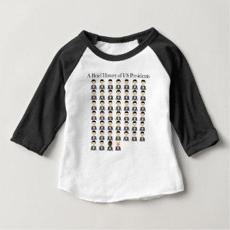 T-shirt Pour Bébé Bref historique des présidents des USA