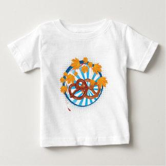 T-shirt Pour Bébé Bretzel savoureux 2 de bande dessinée