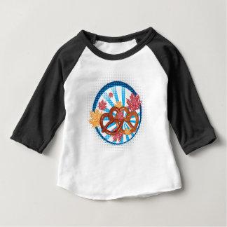 T-shirt Pour Bébé Bretzel savoureux 3 de bande dessinée