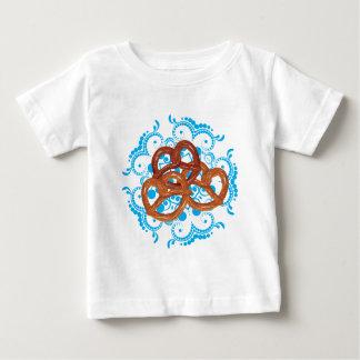 T-shirt Pour Bébé Bretzel savoureux de bande dessinée