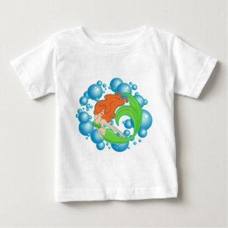 T-shirt Pour Bébé Bulles de sirène