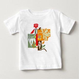 T-shirt Pour Bébé Bushland Flora - t'shirts de bébé