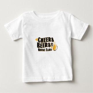 T-shirt Pour Bébé Buveur de bières d'acclamations et d'oreilles de