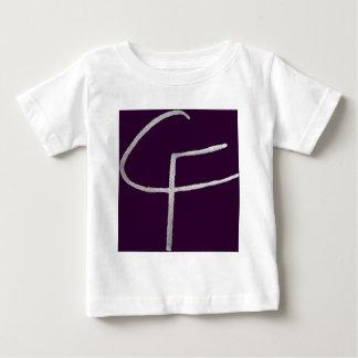 T-shirt Pour Bébé C & F initiales