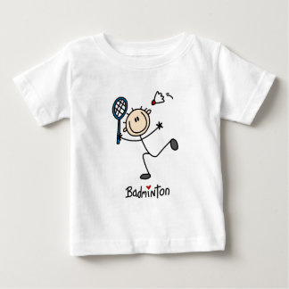 T-shirt Pour Bébé Cadeau de badminton