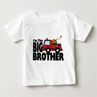 T-shirt Pour Bébé Camion de pompiers de frère