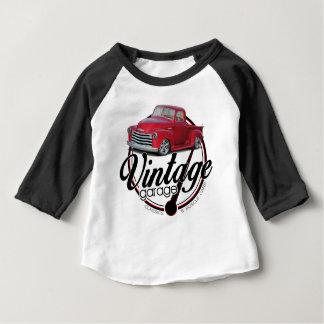 T-shirt Pour Bébé Camion vintage de garage