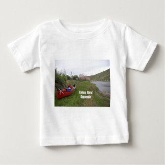 T-shirt Pour Bébé Camping de canoë, rivière de Yampa, Co
