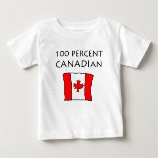 T-shirt Pour Bébé Canadien de 100%