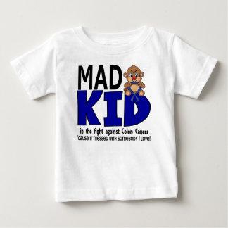 T-shirt Pour Bébé Cancer du colon fou d'enfant