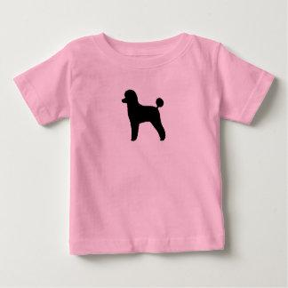 T-shirt Pour Bébé Caniche (jouet, agneau coupés)