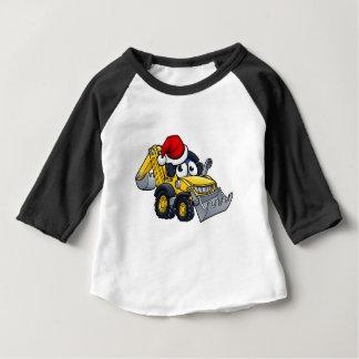 T-shirt Pour Bébé Caractère défonceur de bouteur de Noël de bande