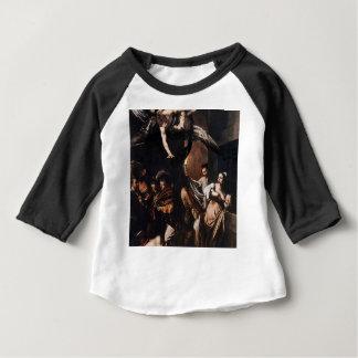 T-shirt Pour Bébé Caravaggio - les sept travaux de la peinture de