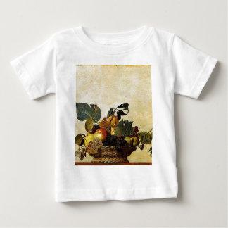 T-shirt Pour Bébé Caravaggio - panier de fruit - illustration