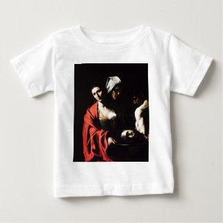 T-shirt Pour Bébé Caravaggio - Salome - illustration baroque