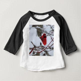 T-shirt Pour Bébé Cardinal de neige