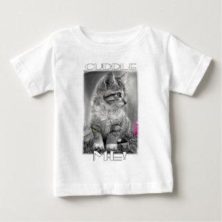 T-shirt Pour Bébé Caressez-moi chaton