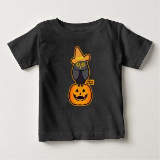 T-shirt Pour Bébé casquette pointu de hibou de rire de citrouille