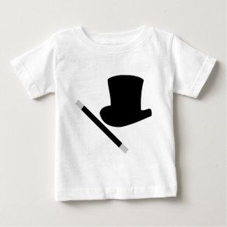 T-shirt Pour Bébé casquette supérieur de magicien et baguette