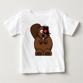 T-shirt Pour Bébé Castor bionique