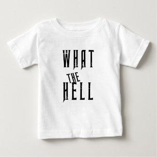 T-shirt Pour Bébé ce qui