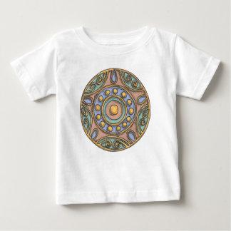T-shirt Pour Bébé Cercles (en pastel)