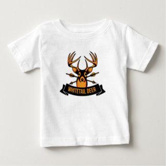 T-shirt Pour Bébé Cerf de Virginie