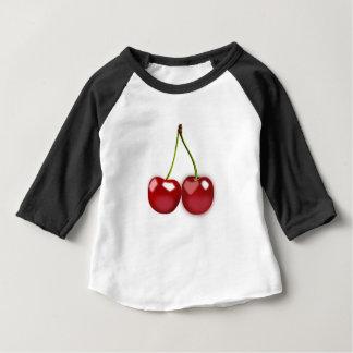 T-shirt Pour Bébé Cerises
