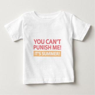T-shirt Pour Bébé C'est été