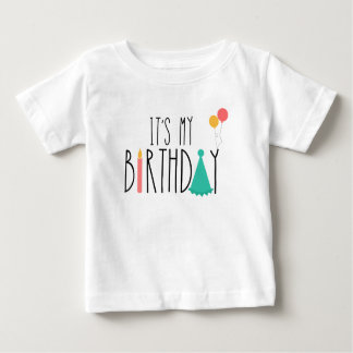 T-shirt Pour Bébé C'est ma pièce en t d'enfants de bébé