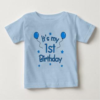 T-shirt Pour Bébé C'est mon ęr anniversaire