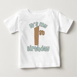 T-shirt Pour Bébé C'est mon premier anniversaire