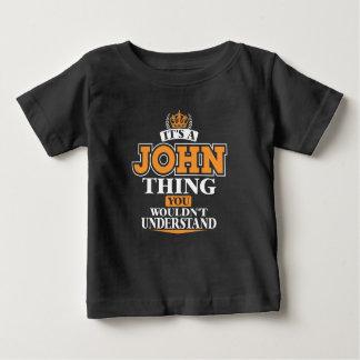 T-shirt Pour Bébé C'est UNE CHOSE de JOHN que VOUS NE COMPRENDRIEZ