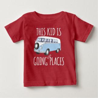 T-shirt Pour Bébé Cet enfant est les endroits frais allants