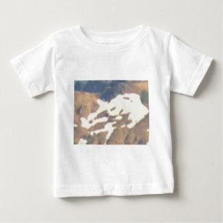 T-shirt Pour Bébé champ de neige de montagne