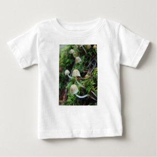 T-shirt Pour Bébé Champignons blancs minuscules