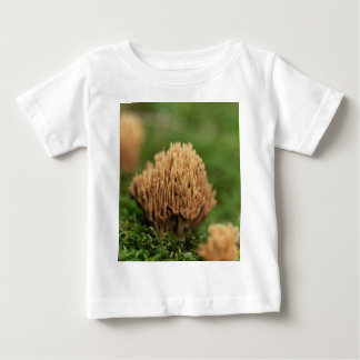 T-shirt Pour Bébé Champignons de corail de souillure verts (abietina