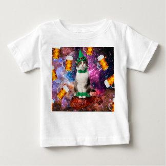 T-shirt Pour Bébé Chat de bière